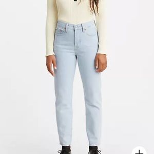 """Levi's Wedgie tapered leg high rise """"mom"""" jeans"""